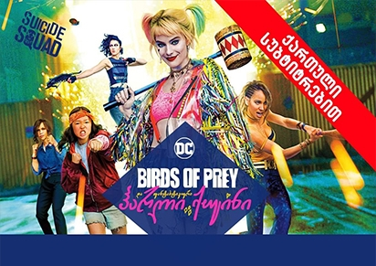 Birds of Prey 2D